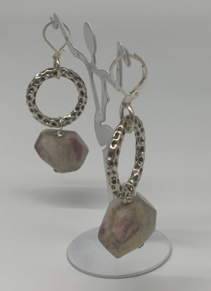 Opal Nugget Earrings by Sarah Bernzott