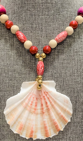 """Cranberry Sundae"" Necklace"