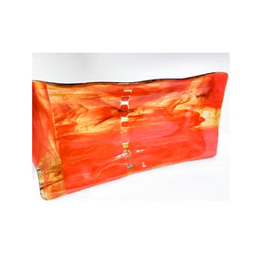 """Fused in Fire"" Functional Art Serving Tray"
