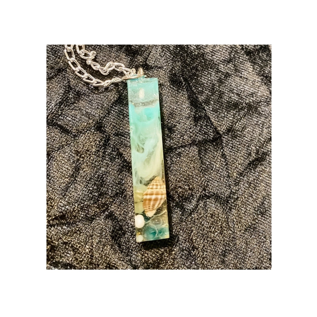 Seaside Memory Pendant Necklace