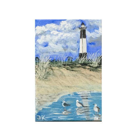 """Lilliputian Art: Tybee Light Station"""
