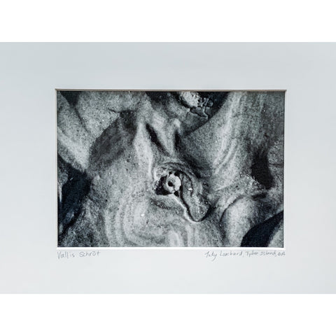 """Vallis Schrut"" Matted Photographic Print by Judy Lombard"