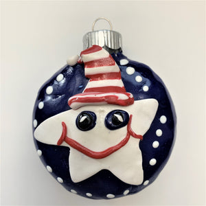 """Shoot for the Stars"" Christmas Ornaments by Cheryl Martin"