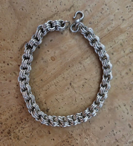Sterling Chain Maille Bracelet