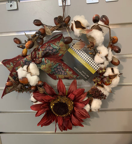 GA Fall Wreath by Gena Fausel