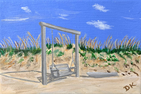 """Lilliputian Art: Tybee Swing II"""