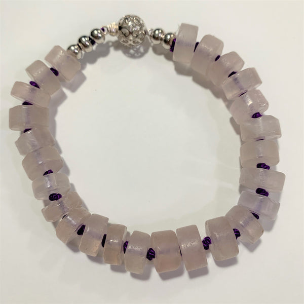 Rose Quartz Bracelet by Marianne Bramble