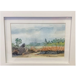 """Along the Marsh"" Original Watercolor by Rebecca Marcussen"