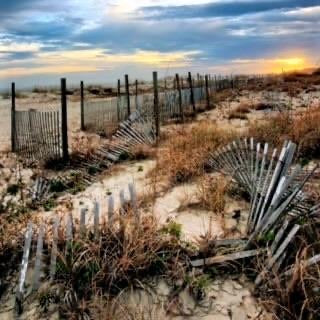 """Fences"" Archival Photographic Print by Joseph Shields"