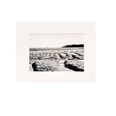 """A Walk on the Moon""  Matted Photographic Print by Judy Lombard"