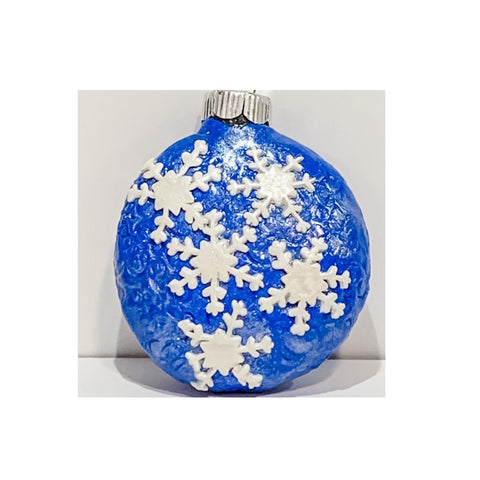 """Snowflake Collection"" Christmas Ornaments by Cheryl Martin"