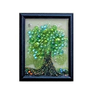 """Glitter Tree"" Window Art"