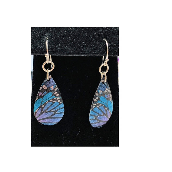 Butterfly Wings Earrings by Marianne Bramble