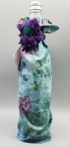 Handmade Wine Bottle Cover by Doris Grieder
