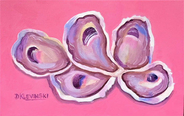 """Oysters...Pretty in Pink"""