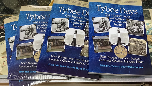 """Tybee Days"" Book by Ellen Lyke Taber and Polly Wylly Cooper"