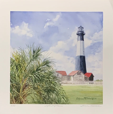 """Tybee Lighthouse"" Giclee Print by Sharon McIntosh"