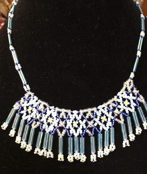 """Blue Fantasy"" Necklace"