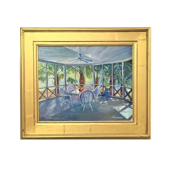 """Summer Retreat"" Original Oil by Beth Hegeman"