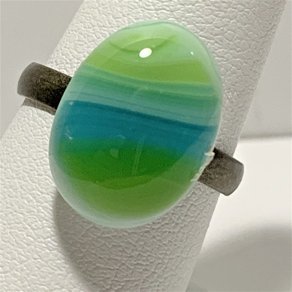 Fused Glass Rings