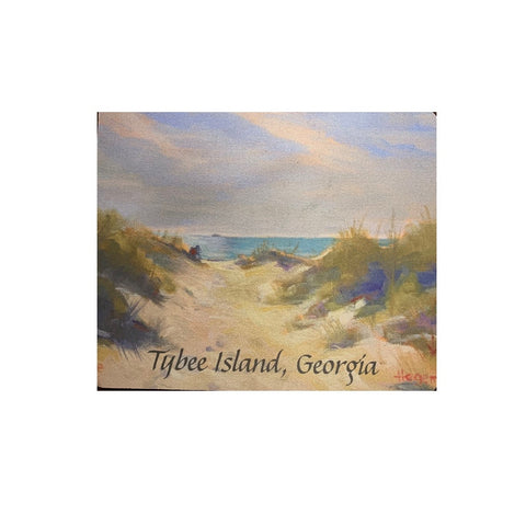 Tybee Island Mouse Pads of Oil by Beth Hegeman