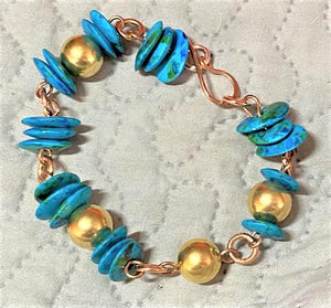 Mixed Metal Bracelet by Sarah Bernzott