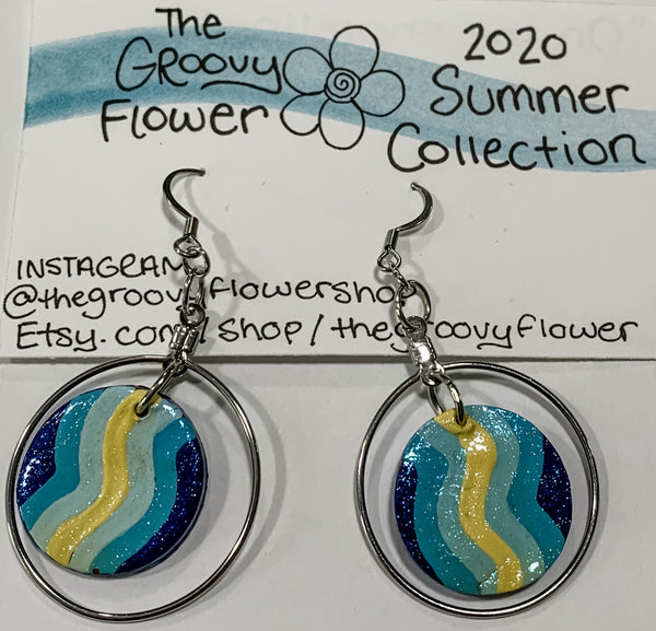 """On the Shoreline"" Drop Earrings"