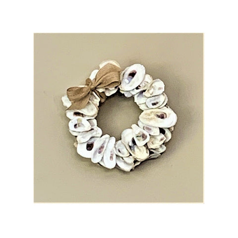 Oyster Shell 8-inch Wreath