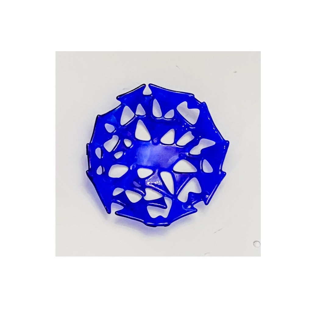 """Abstract Geometric"" 6-inch Functional Art Bowl"