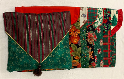 Reversible Holiday Pillow Covers by Linda Cleary