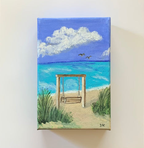 """Lilliputian Art: Tybee Swing"""