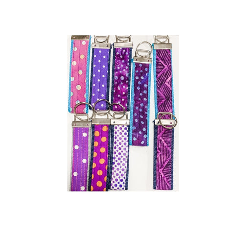 Wristlet Key Fob/Keychains - All Colors