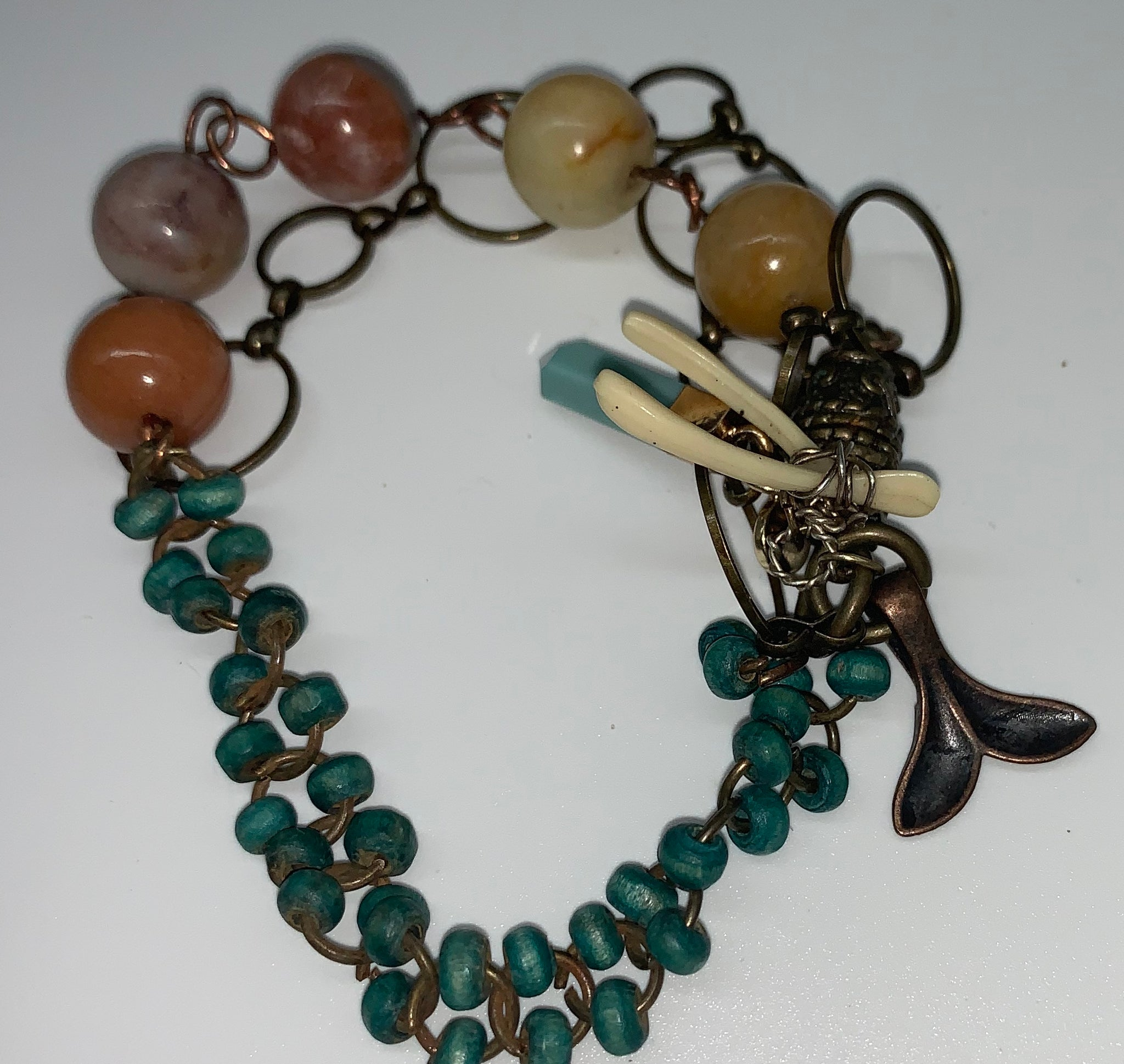 Autumn Amazonite Bracelet by Sarah Bernzott