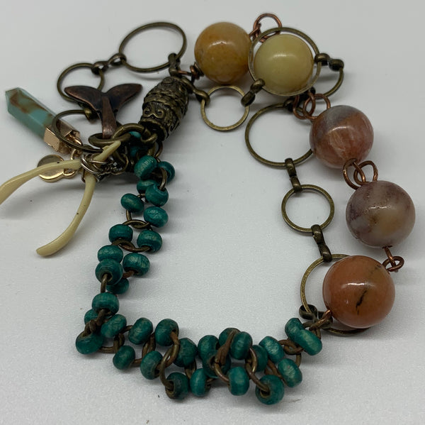 Autumn Amazonite Bracelet