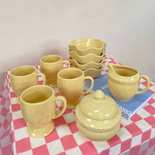 Load image into Gallery viewer, Pastel Yellow Spring Dish Set