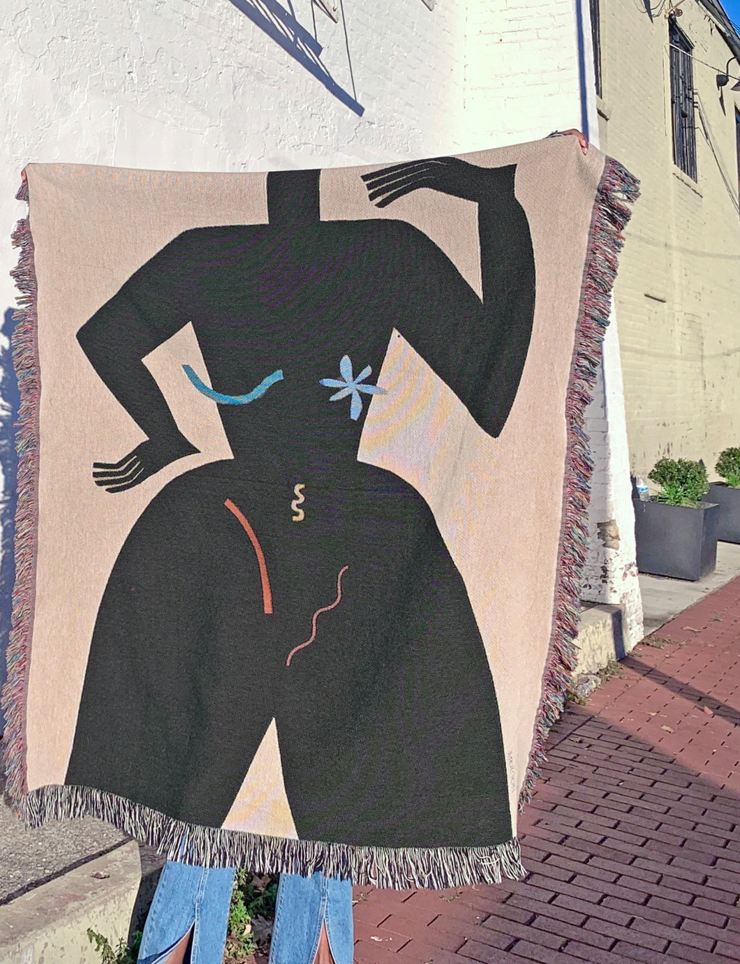 FEMME Woven Tapestry Blanket by MEROON