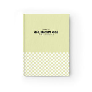 Oh, Lucky Gal | Personalized Gratitude Journal