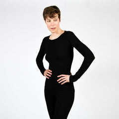 raw edge modern long sleeve - I Want Sense, Sense Clothing, Sense Active Spa Travel Wear for Women, Senseclothing.com