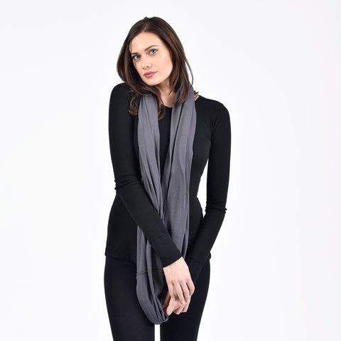 infinity scarf - I Want Sense, Sense Clothing, Sense Active Spa Travel Wear for Women, Senseclothing.com