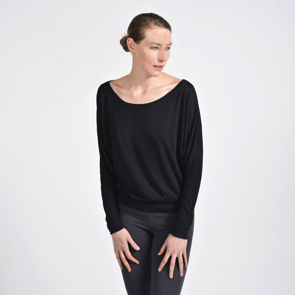 essential scoop pullover - I Want Sense, Sense Clothing, Sense Active Spa Travel Wear for Women, Senseclothing.com