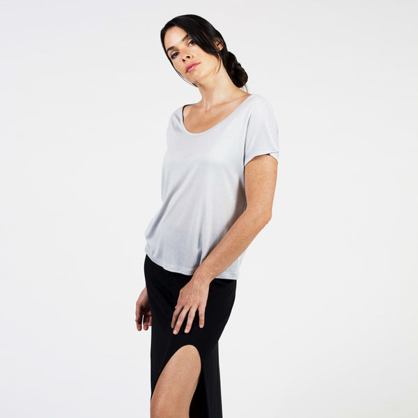 simple micro modal® tee - I Want Sense, Sense Clothing, Sense Active Spa Travel Wear for Women, Senseclothing.com