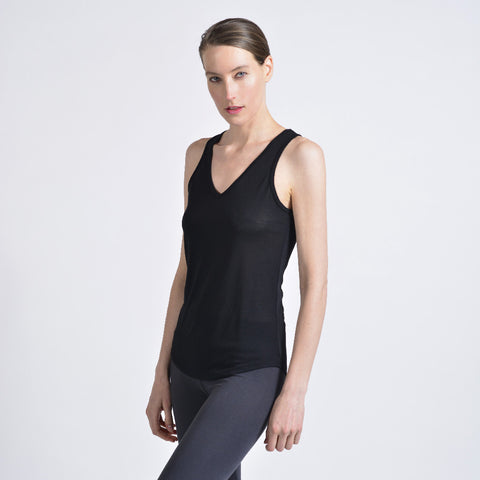 relaxed v tank - I Want Sense, Sense Clothing, Sense Active Spa Travel Wear for Women, Senseclothing.com