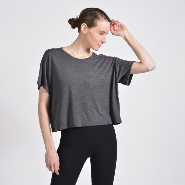 the boxy tee - I Want Sense, Sense Clothing, Sense Active Spa Travel Wear for Women, Senseclothing.com