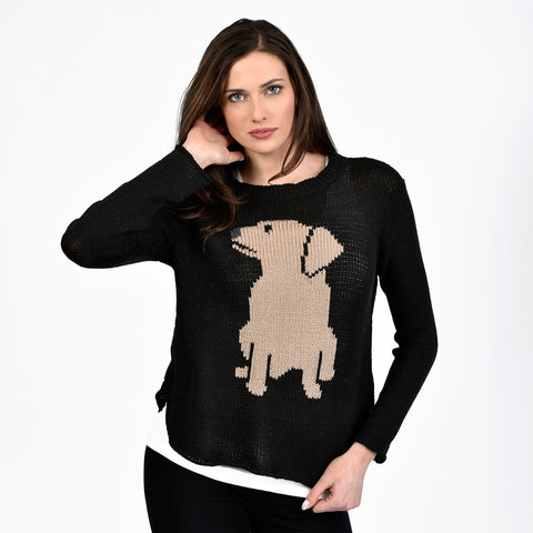 Brown Lab Sweater