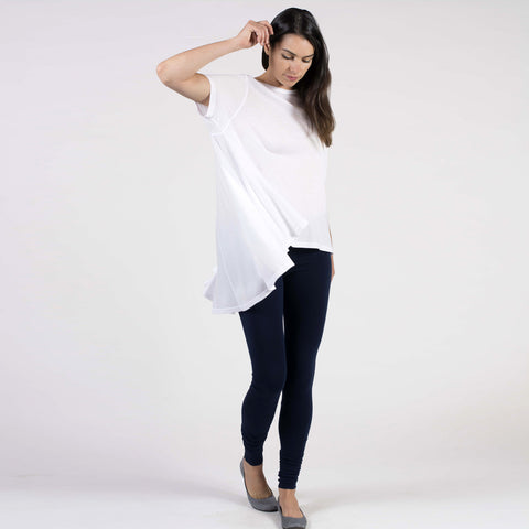 low/high drape s/s - I Want Sense, Sense Clothing, Sense Active Spa Travel Wear for Women, Senseclothing.com