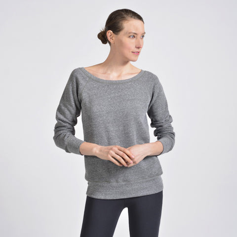 flash dance sweatshirt - I Want Sense, Sense Clothing, Sense Active Spa Travel Wear for Women, Senseclothing.com