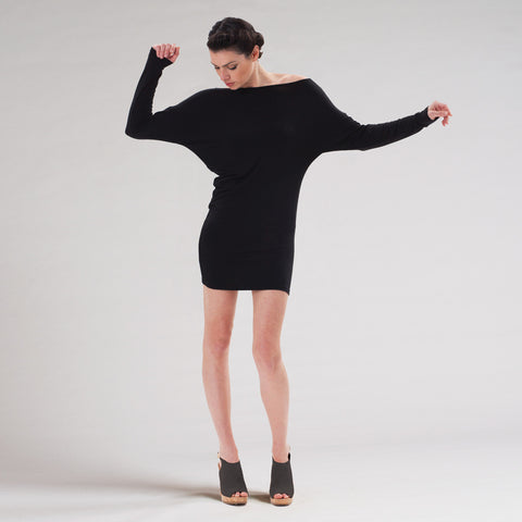 asymmetric tunic top by sense clothing