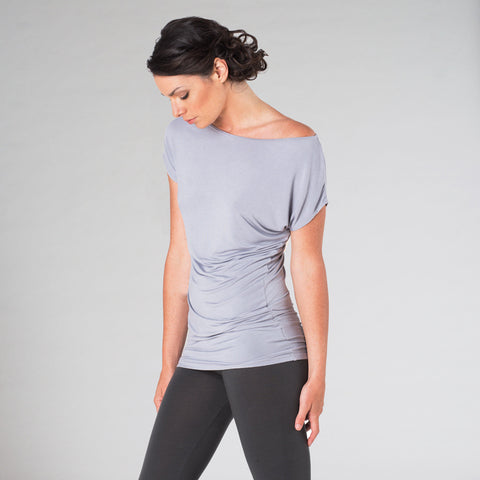 cap sleeve asymmetric - I Want Sense, Sense Clothing, Sense Active Spa Travel Wear for Women, Senseclothing.com