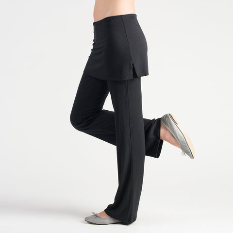 sense clothing best selling tunic pant in black