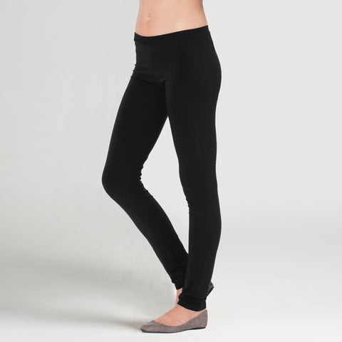 Sense Clothing modern straight leg pant in black